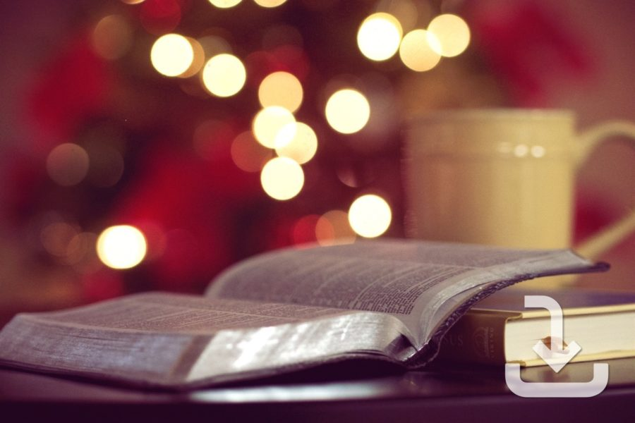 Christmas Reading Plan Bookmark
