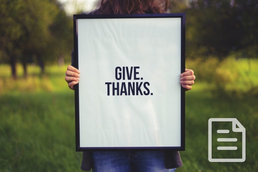 Choosing Thankfulness