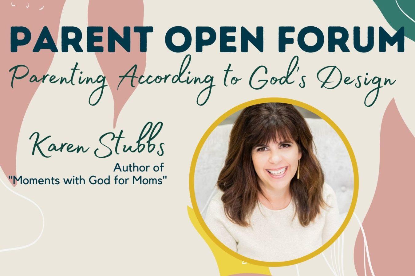 Parenting According to God's Design: Parent Open Forum