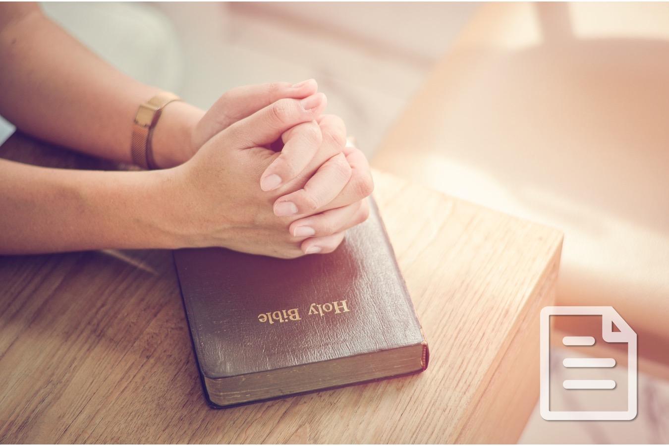 Abide: A Call to Pray