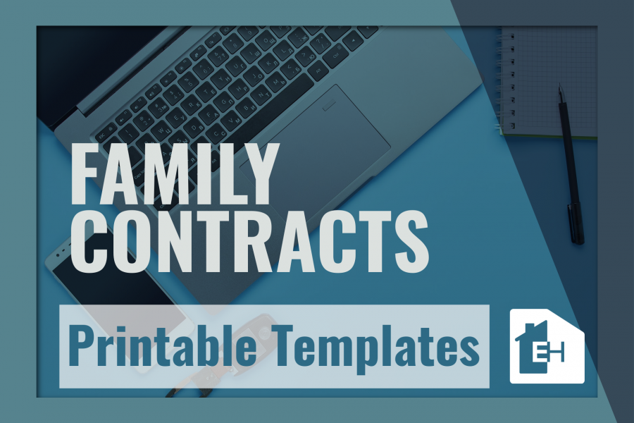 Family Contracts-Downloads